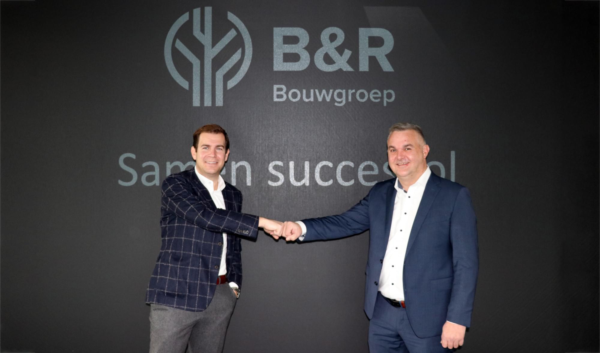 Sam Daems (B&R) en Bart Moors (Pearl Homes) 2