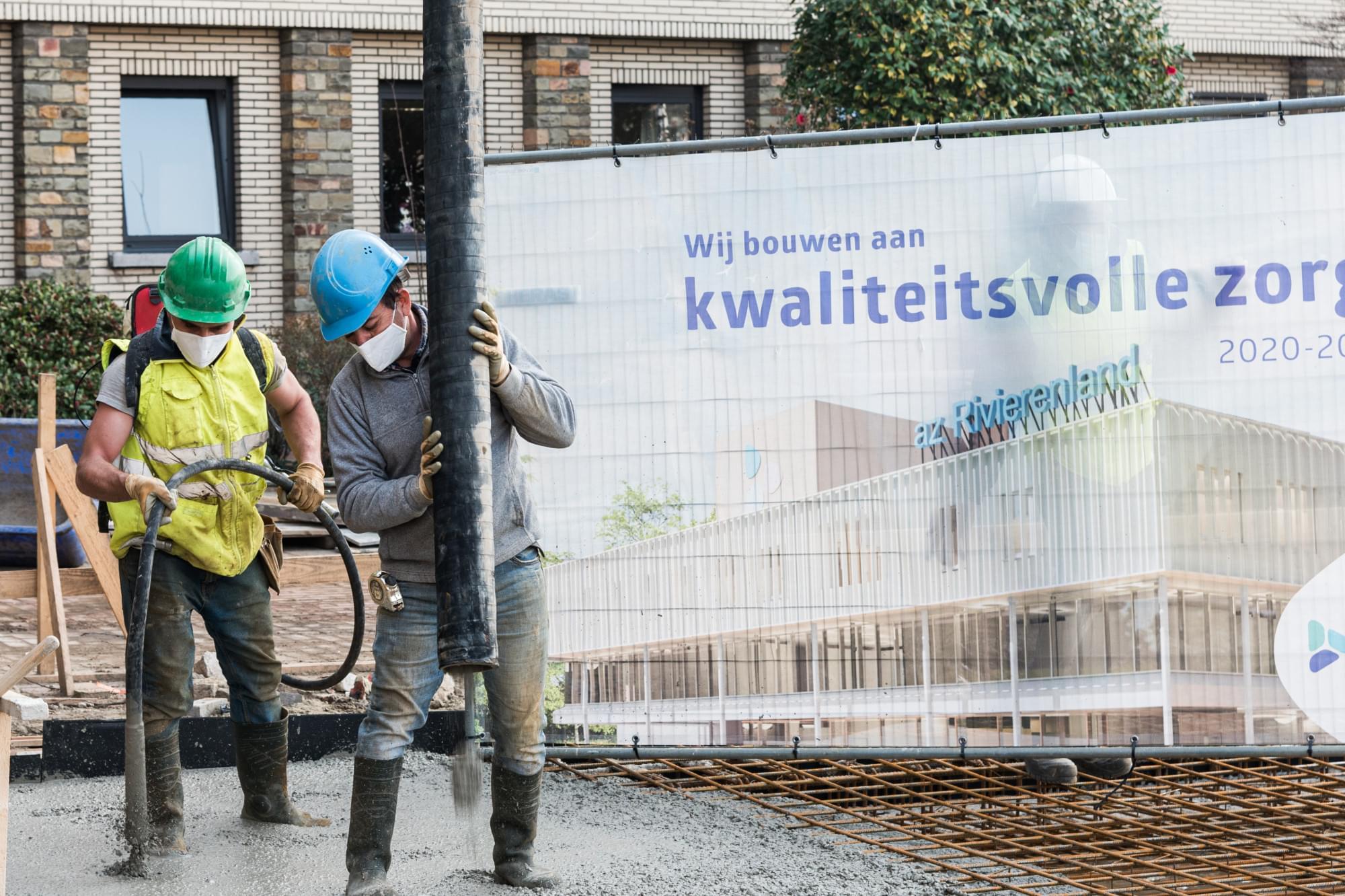 Plechtige start AZ Rivierenland - Rumst (1)