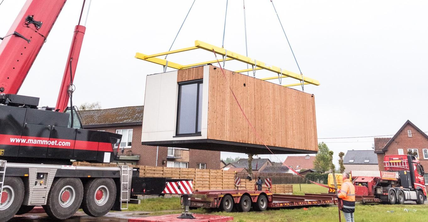 Pearl Homes plaatst zorgunit in Hechtel-Eksel